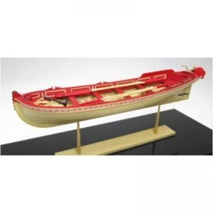 2114-12702-21-Foot-English-Pinnace-1750-–-1760-Model-Boat-Kit-Model-Shipways-MS1458