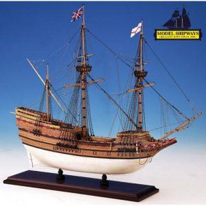 2121-12709-Mayflower-Model-Boat-Kit-Model-Shipways-MS2020