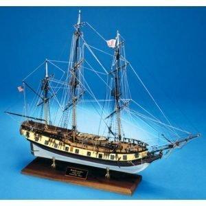 2124-12712-Rattlesnake-Privateer-1780-Model-Ship-Kit-Model-Shipways-MS2028