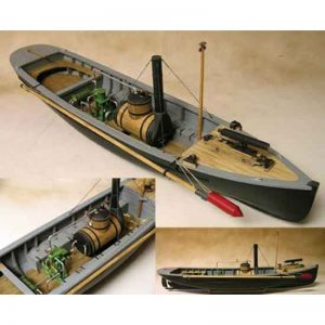 2127-12715-USN-Picket-Boat-No.1-1864-Kit-Model-Shipways-MS2261