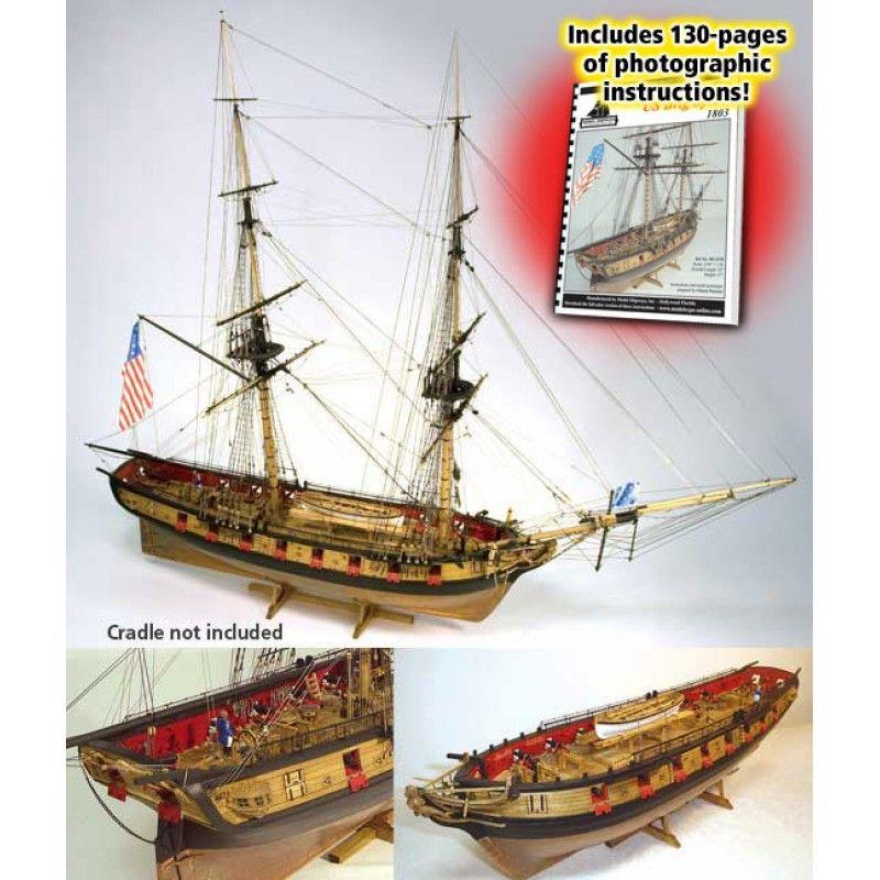 Syren US Brig (1803) Kit - Model Shipways (MS2260)