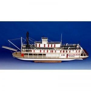 2131-12719-Chaperon-Sternwheel-Steam-Packet-1884-Boat-Kit-Model-Shipways-MS2190