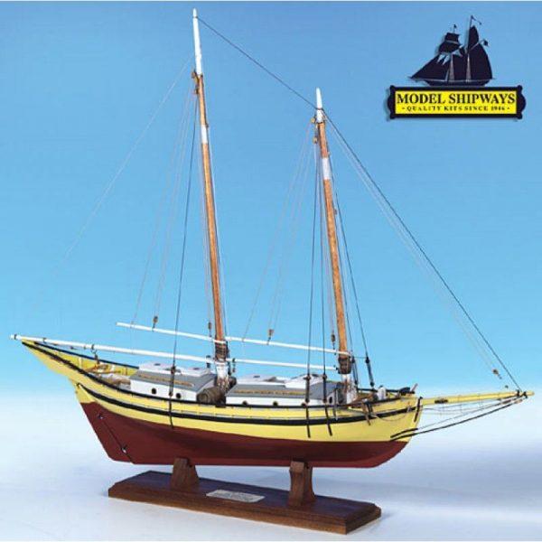 2132-12733-Glad-Tidings-Pinky-Schooner-1937-Kit-Model-Shipways-MS2180