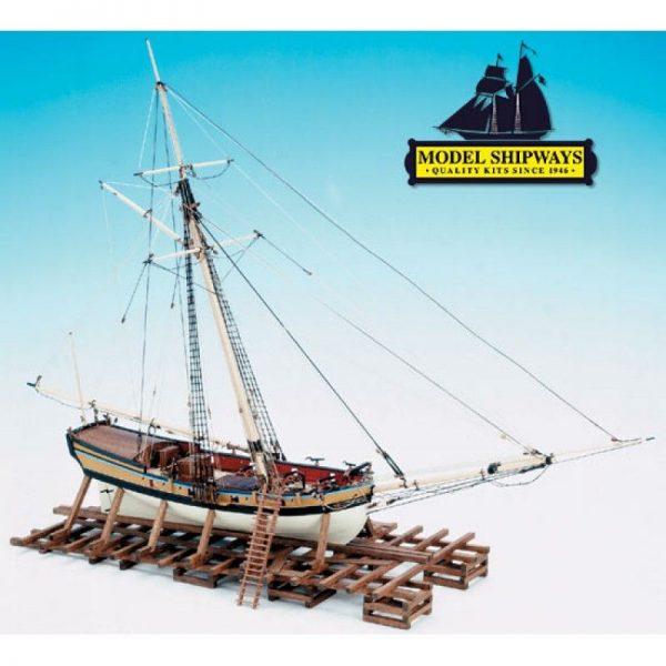 2133-12735-Armed-Virginia-Sloop-1768-Ship-Kit-Model-Shipways-MS2160