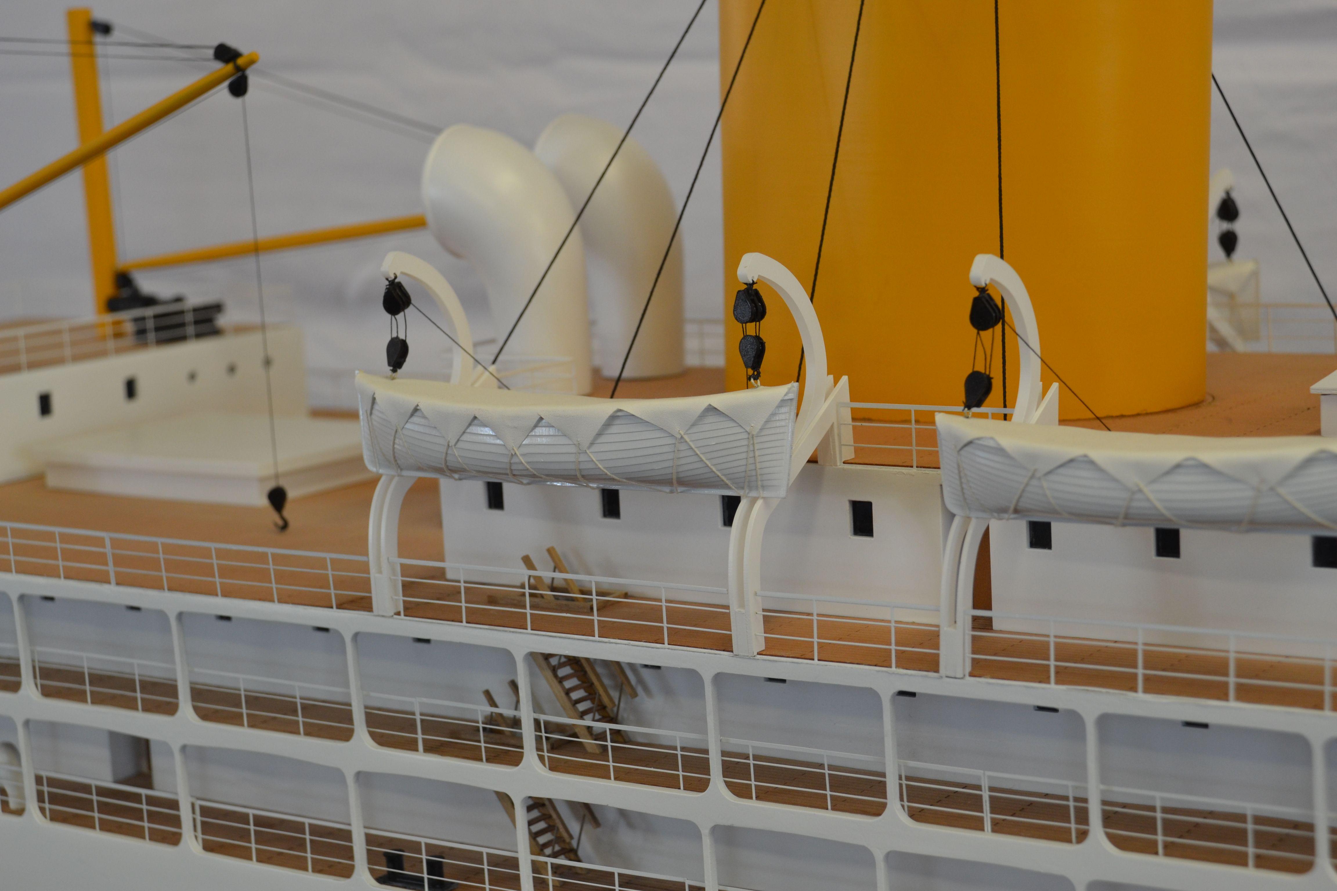 SS Corinthic Model Ship