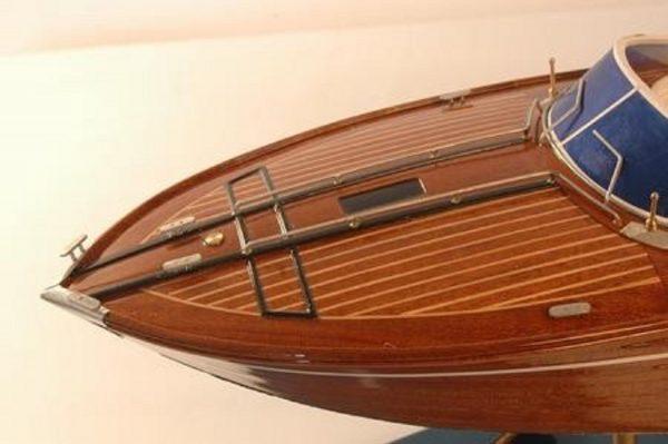 Riva Rama 44 model boat (Premier Range) - PSM