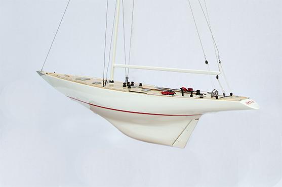 Ikra 12 Model Sailing Yacht (Superior Range) - HM