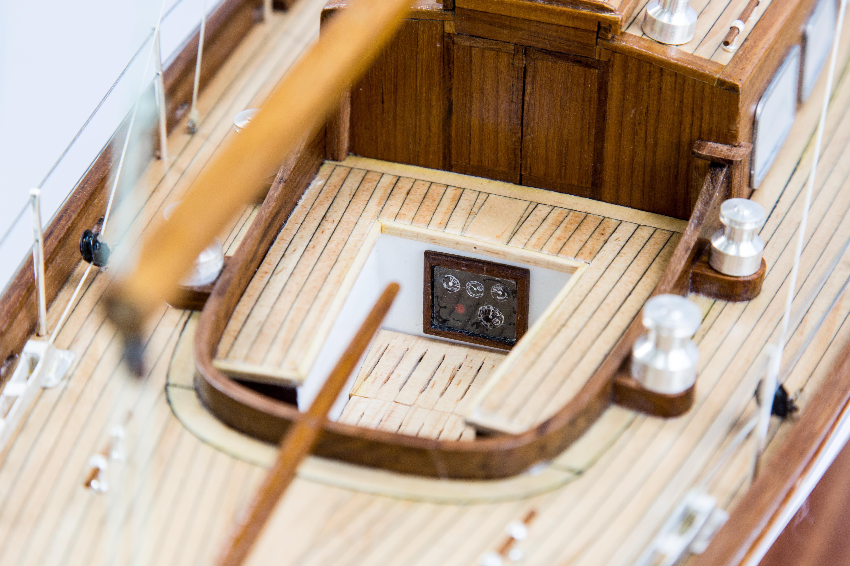 Nagaina Model Yacht (Superior Range) - HM