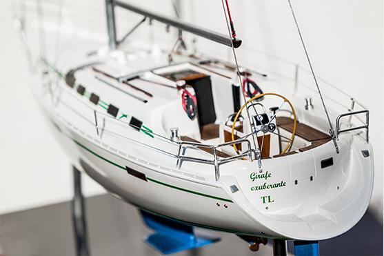 Oceanis 370 Model Yacht (Superior Range) - HM
