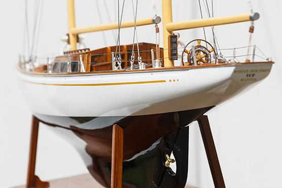 2562-14564-White-Dolphin-YCF-Bastia-Model-Yacht-Superior-Range