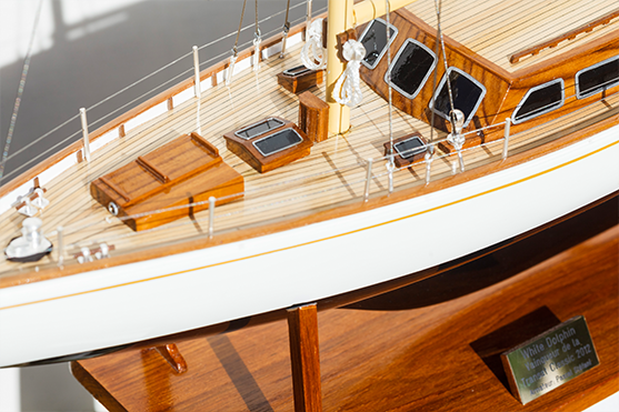 2562-14568-White-Dolphin-YCF-Bastia-Model-Yacht-Superior-Range
