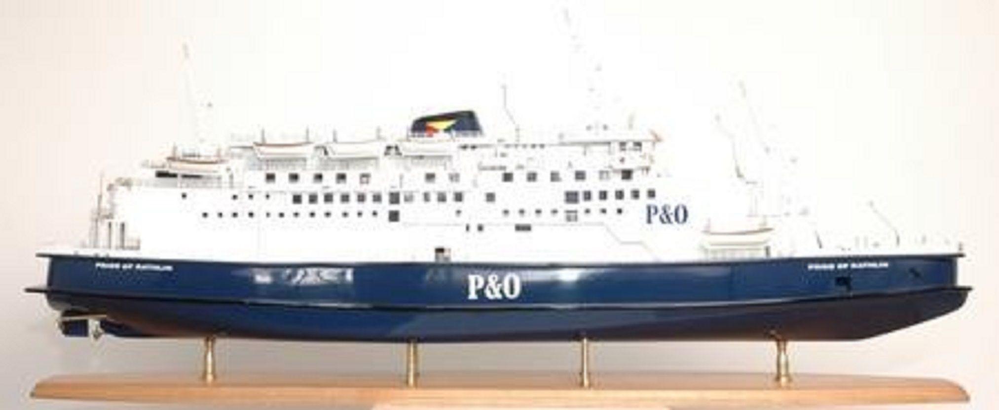 P & O model ships - Pride Aisla and Rathlin