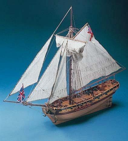 HMS Resolution Model Ship Kit - Corel (SM38)