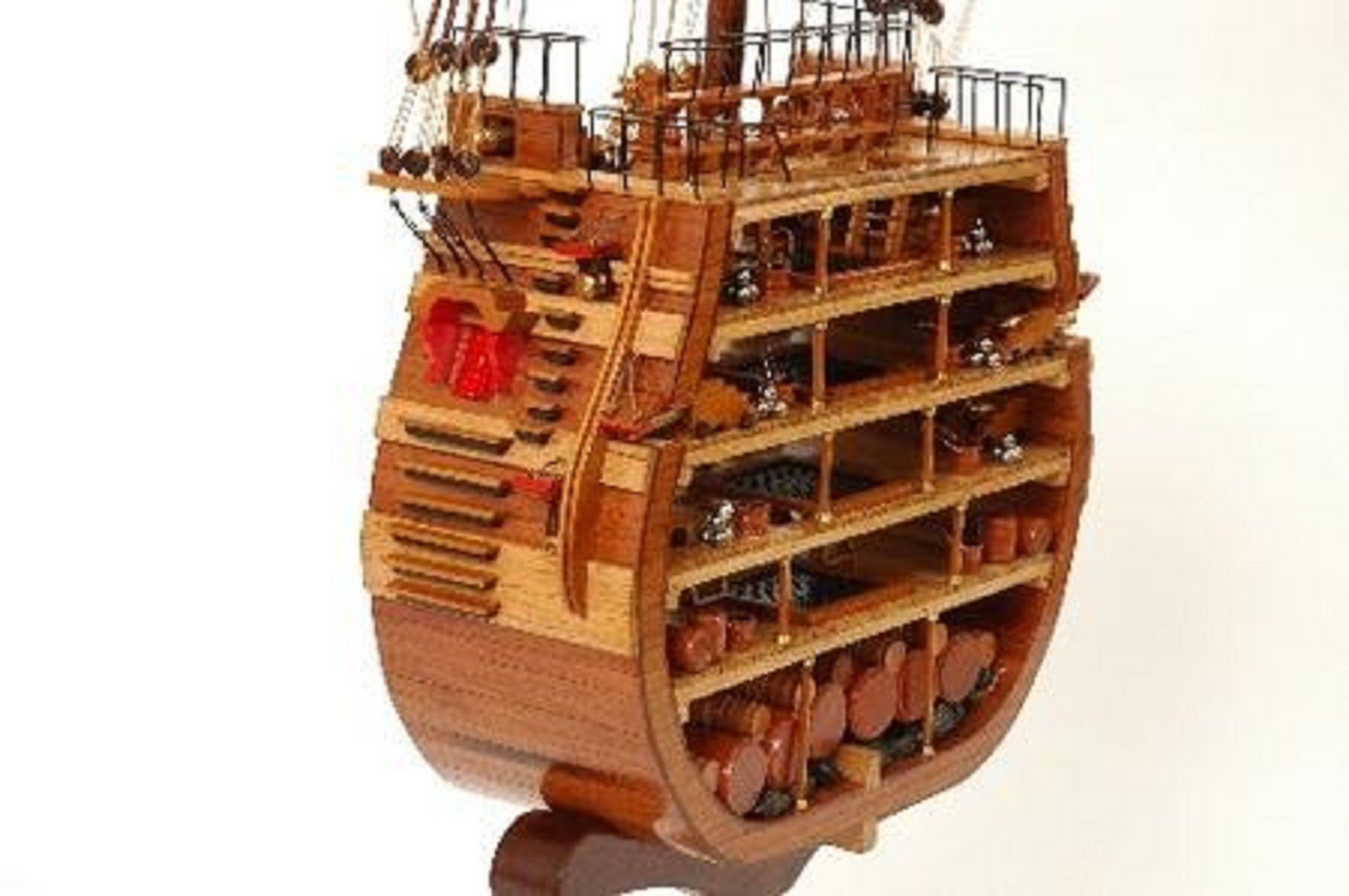 330-7455-HMS-Victory-Cross-Section-Model-Ship-Premier-Range