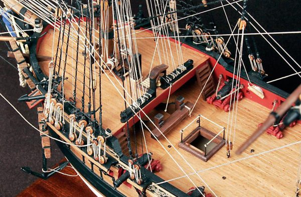 HMS Fly Model Ship Kit (Victory Models 1300-03)