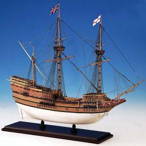 363-7934-Mayflower-Model-Ship-Kit