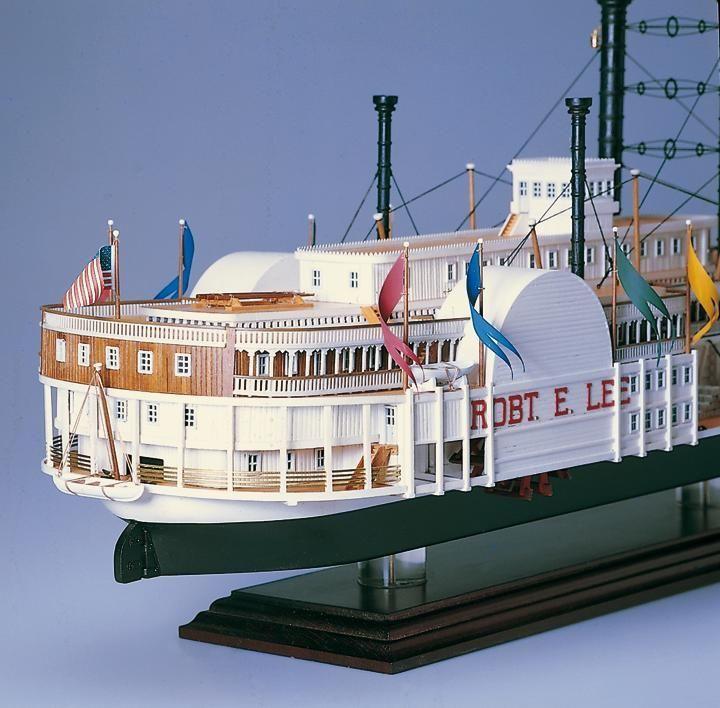 366-13374-Robert-E-Lee-Model-Boat-Kit-Amati-1439