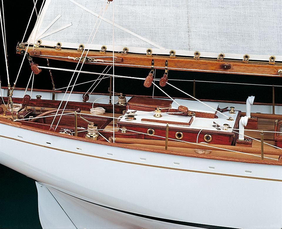 370-14104-Dorade-Model-Boat-kit-Amati-1605