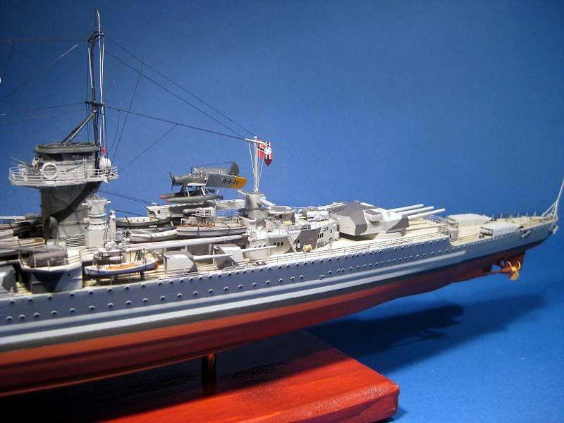 377-7899-Graf-Spee-Model-Boat-Kit-Detailed-Fitting-Set