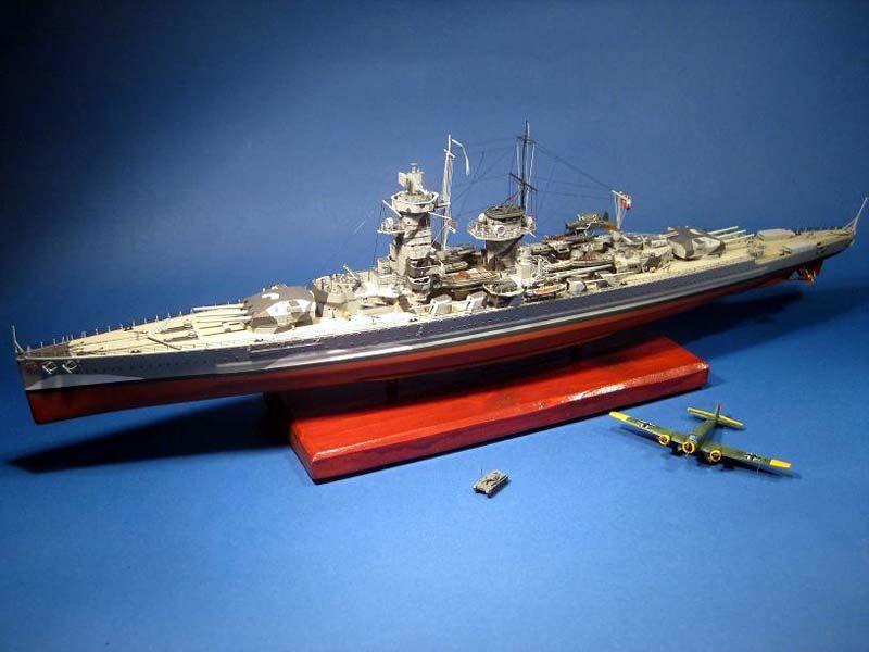 377-7906-Graf-Spee-Model-Boat-Kit-Detailed-Fitting-Set
