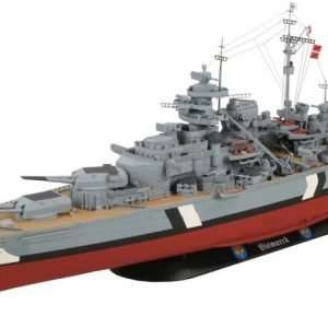 383-7895-Bismarck-Model-Boat-Kit-Complete-Set