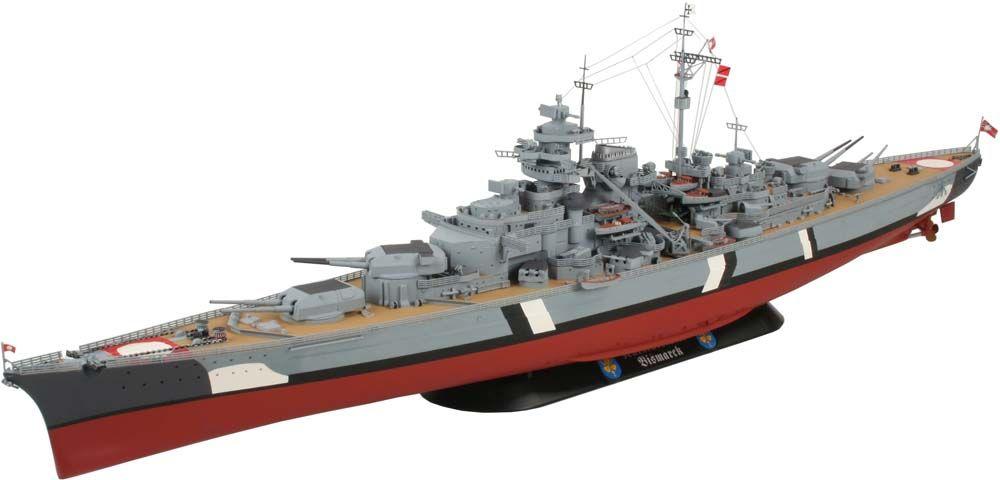 Bismarck Model Boat Kit including Fittings - Aeronaut (AN3620/03)