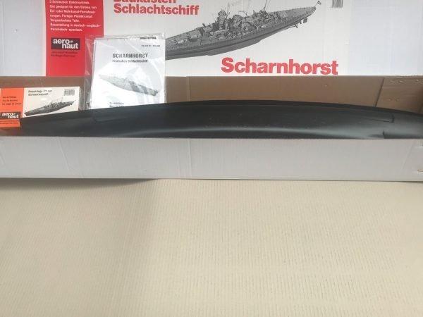 384-12617-Scharnhorst-Model-Boat-Kit-Aeronaut-Including-fittings-AN362503