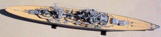 Prinz Eugen Model Boat Kit Aeronaut Including fittings (AN3628/00)