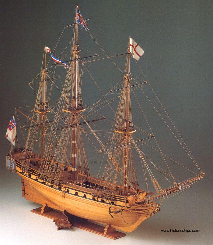HMS Unicorn Ship Model Kit - Corel (SM11)
