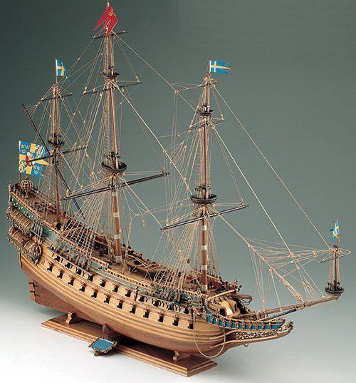 394-8014-Wasa-Ship-Model-Kit