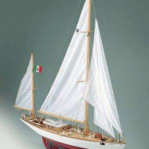 Yawl Corsaro II Model Boat Kit Corel (SM26)