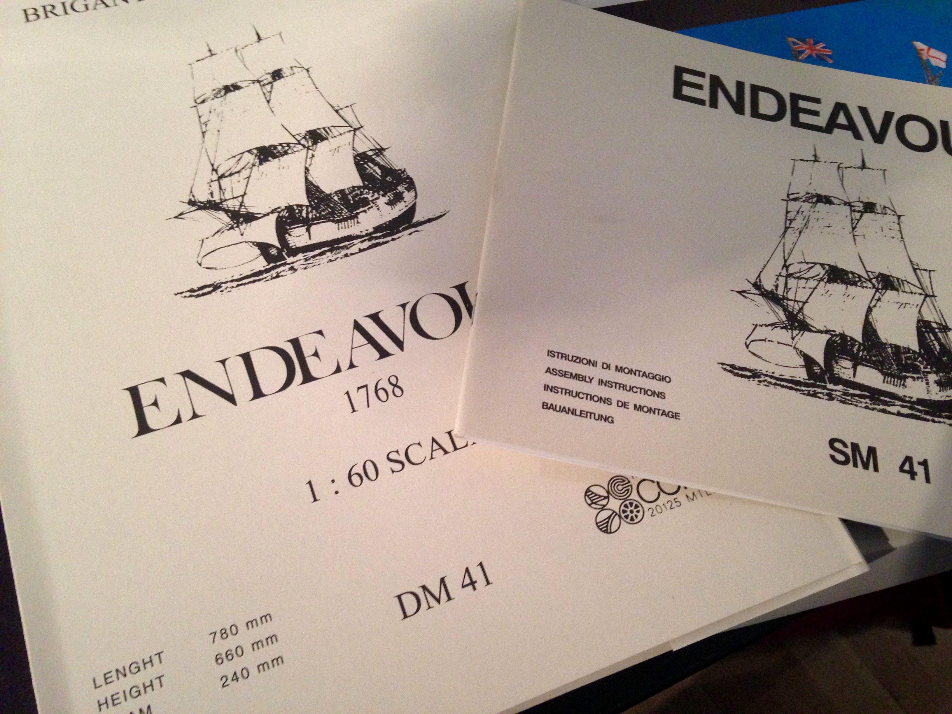 HMS Endeavour Model Ship Kit - Corel (SM41)