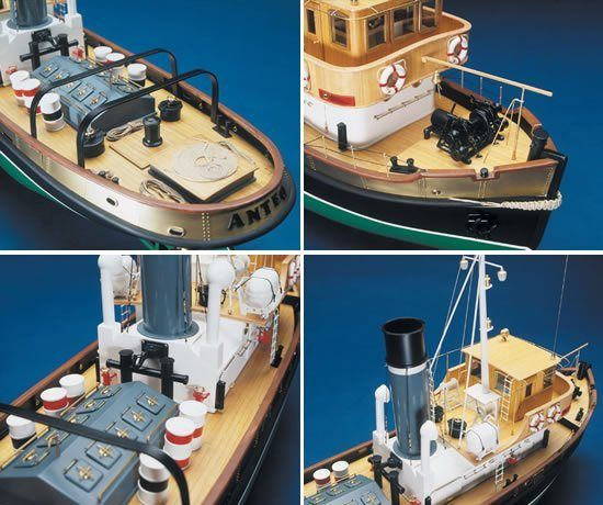 422-8024-Anteo-Model-Boat-Kit