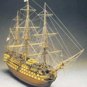 HMS Victory Model Ship Kit Scale 1 to 98 - Mantua Models (776)
