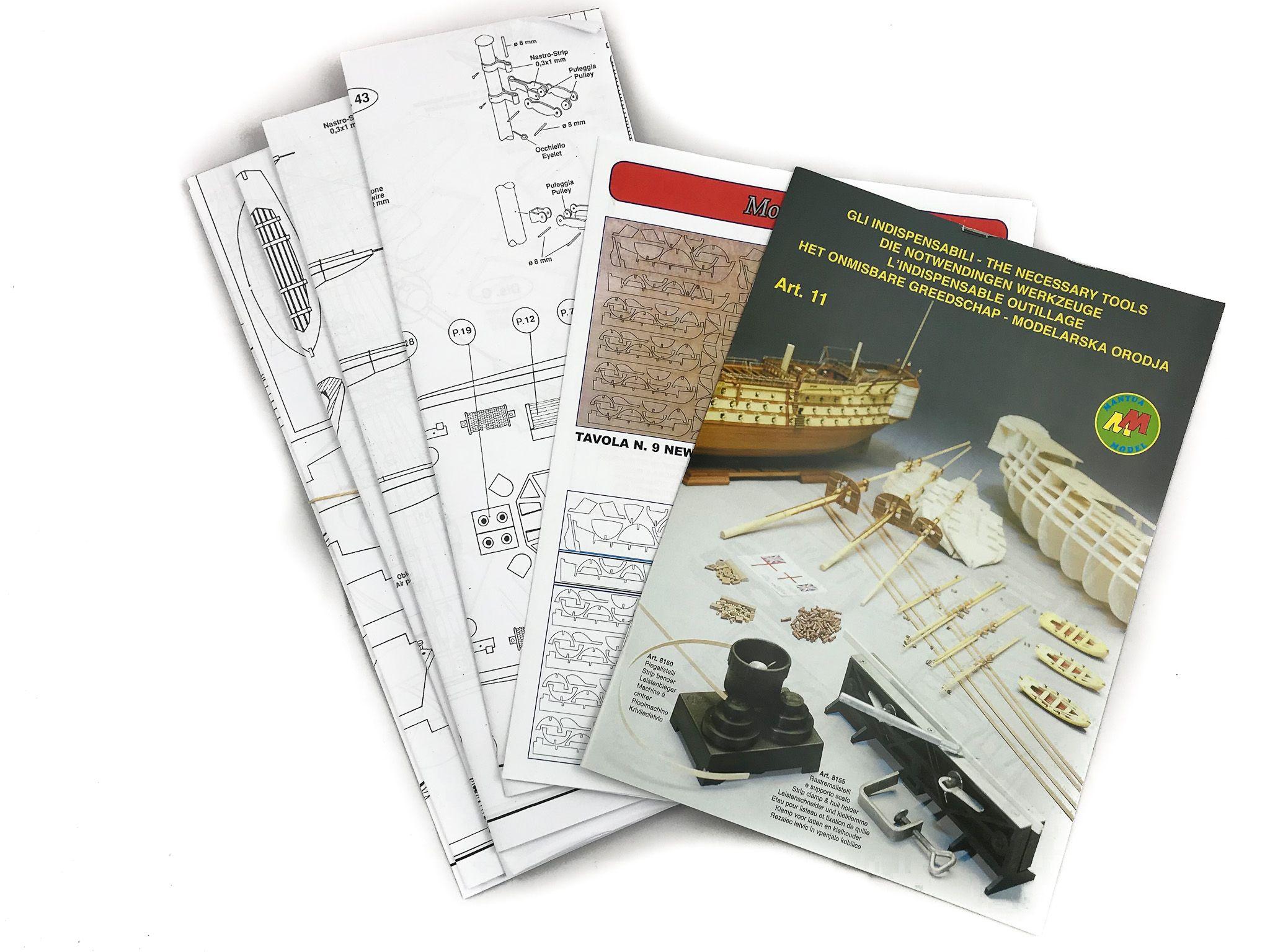 Amerigo Vespucci Ship Model Kit - Mantua Models (799)