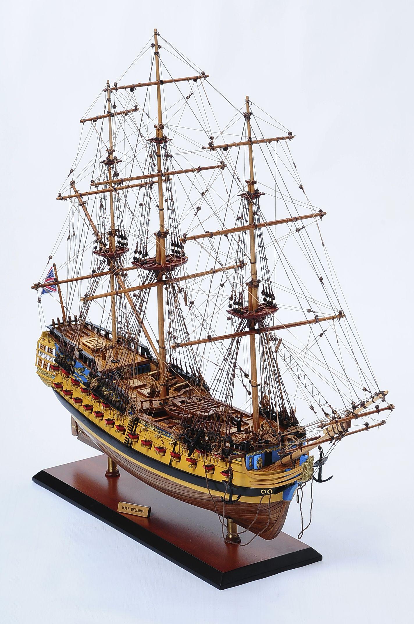 516-6139-HMS-Bellona-Model-Ship-Superior-Range