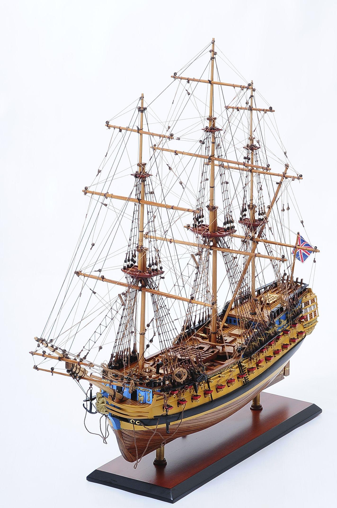 516-6140-HMS-Bellona-Model-Ship-Superior-Range