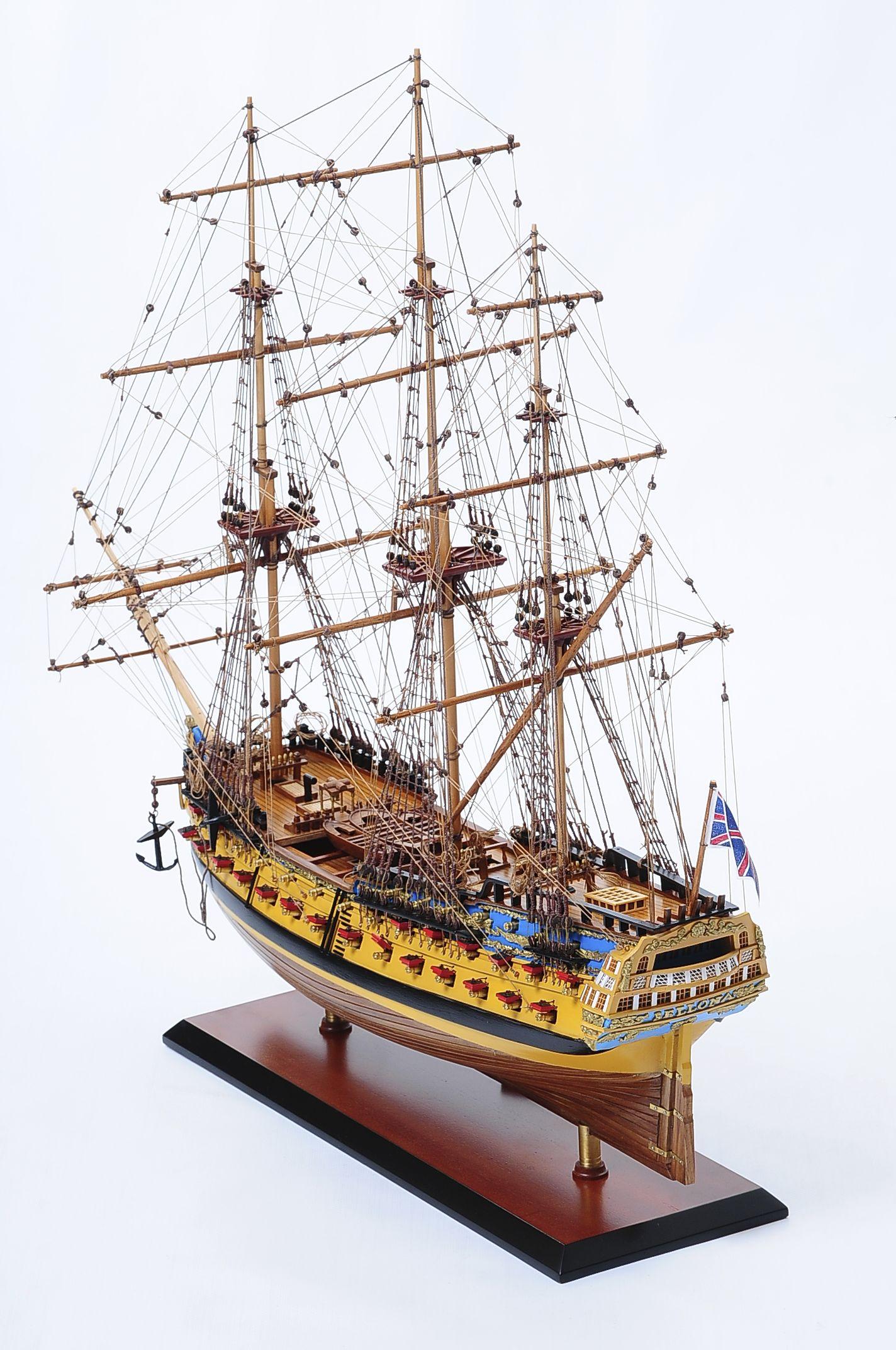 516-6141-HMS-Bellona-Model-Ship-Superior-Range