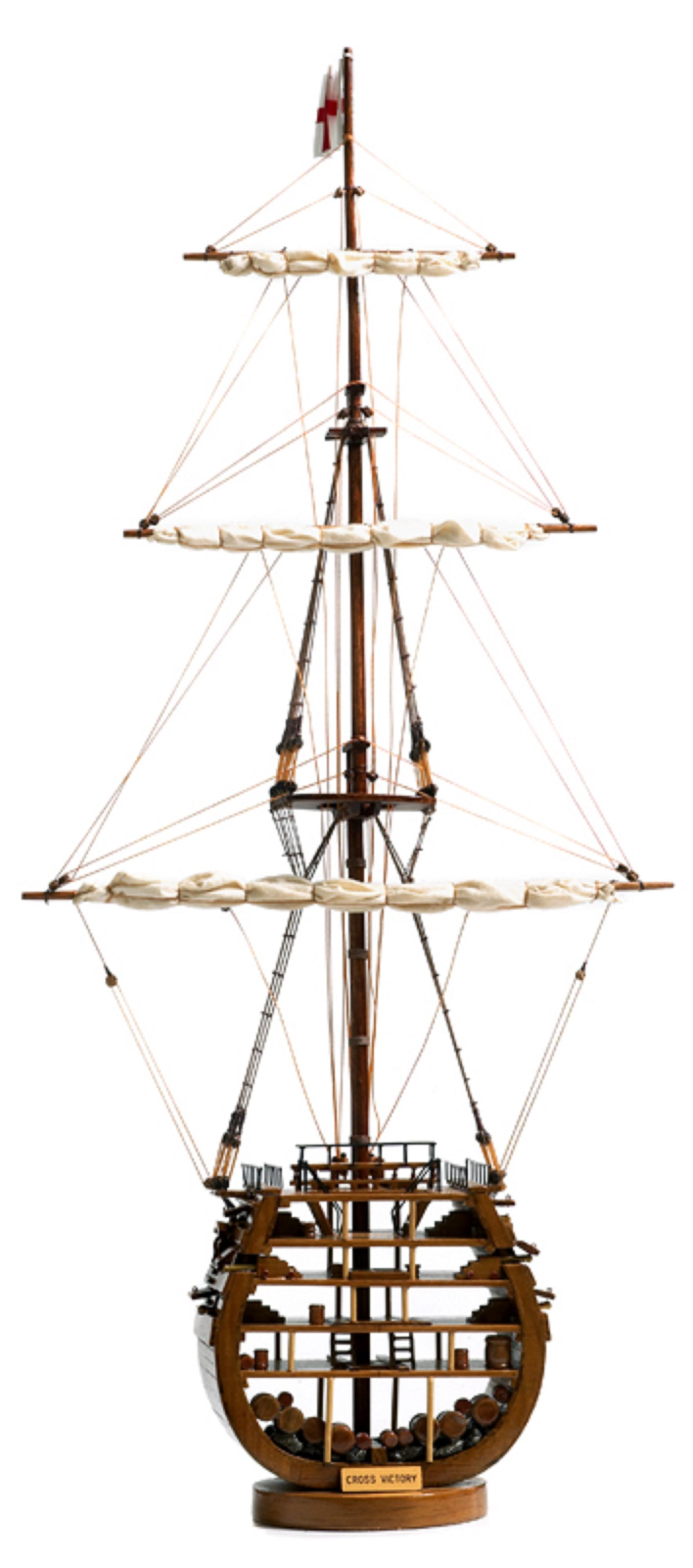 HMS Victory Cross Section Model Ship  (Superior Range) - PSM
