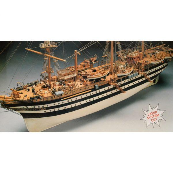 Amerigo Vespucci 1:84 Scale Boat Kit - Panart (741)