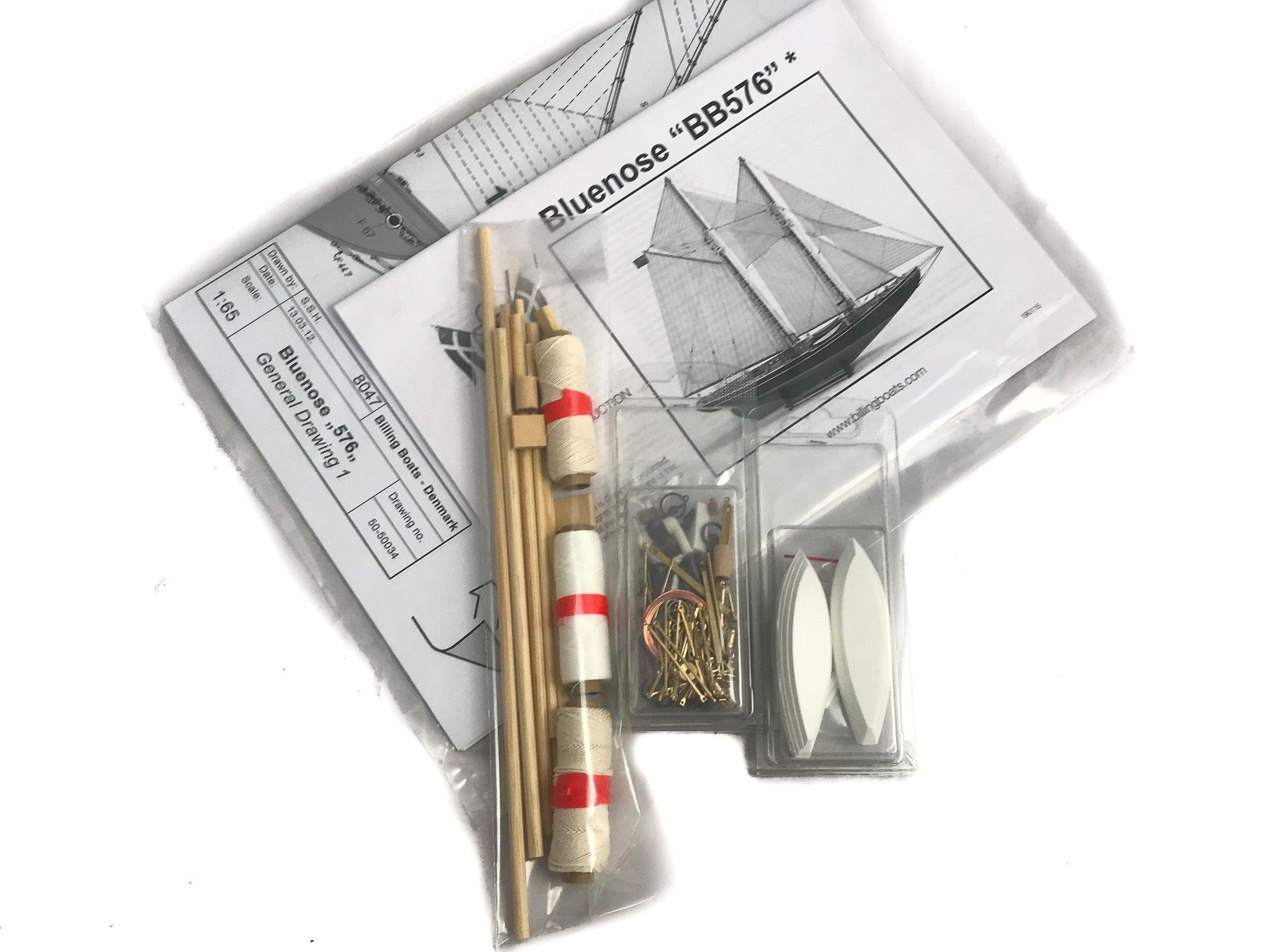777-13385-Blue-Nose-Model-Boat-Kit-Billing-Boats-B576
