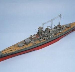 Scharnhorst Model Boat Kit Aeronaut Including fittings (AN3625/03)
