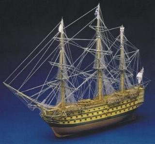 HMS Victory Model Ship Kit with Copper Hull - Panart (738)