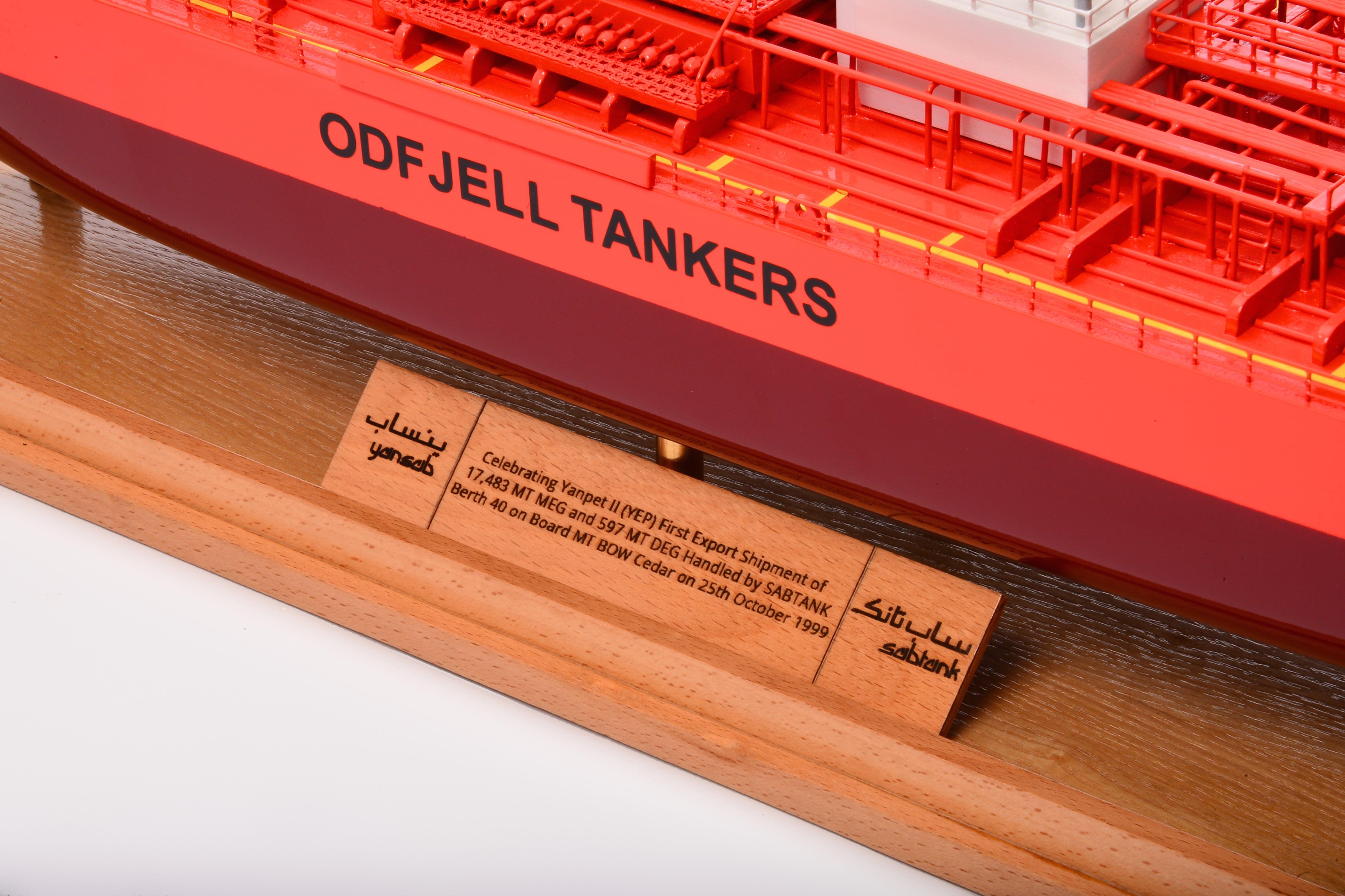 Bow Cedar Custom Model Tanker