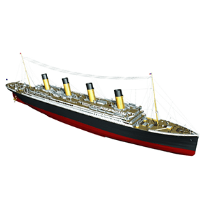 Passenger Boats and Liners Model Kits