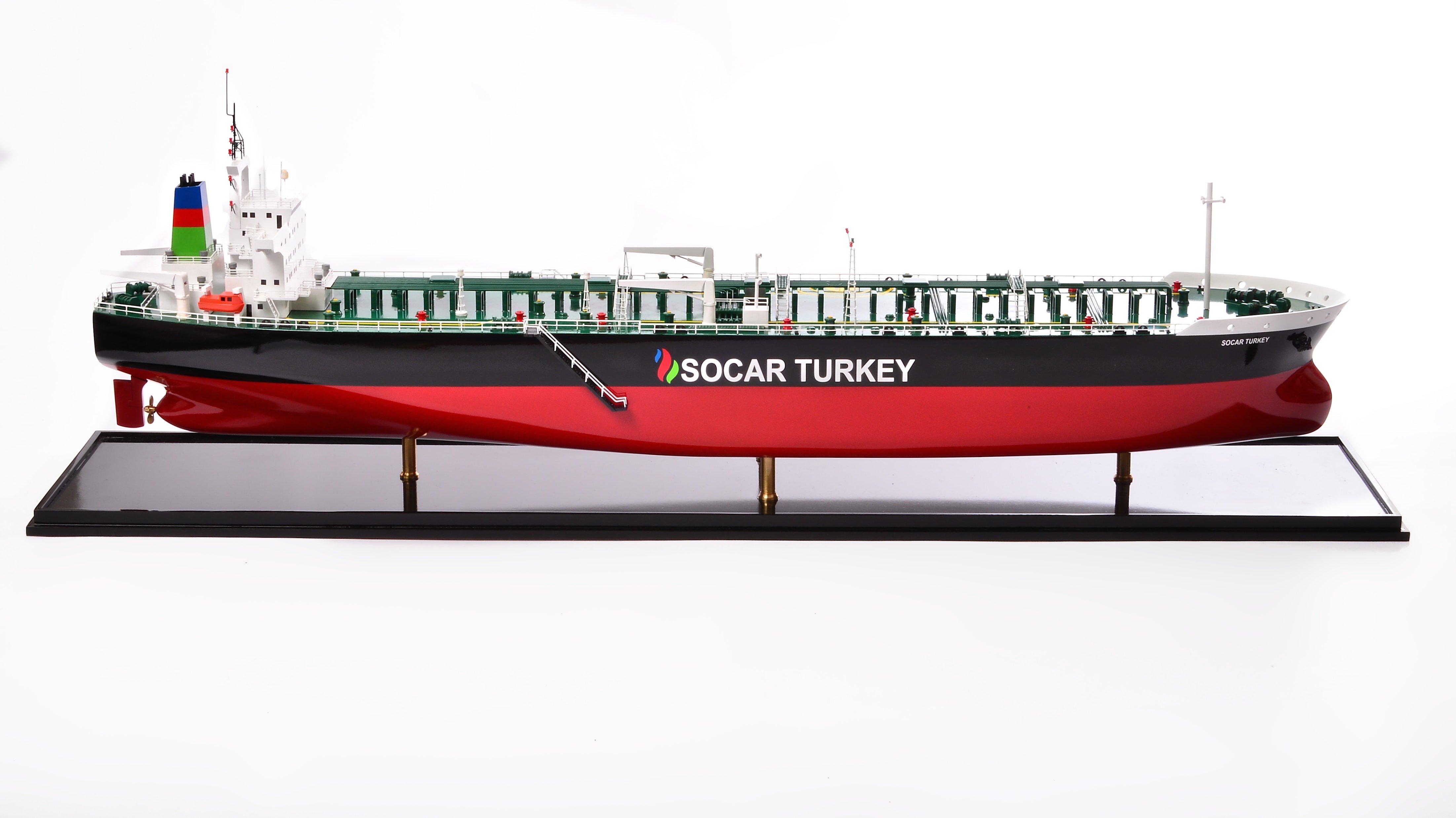 VLCC Model Ship (Socar Turkey) - UK Premiership Models
