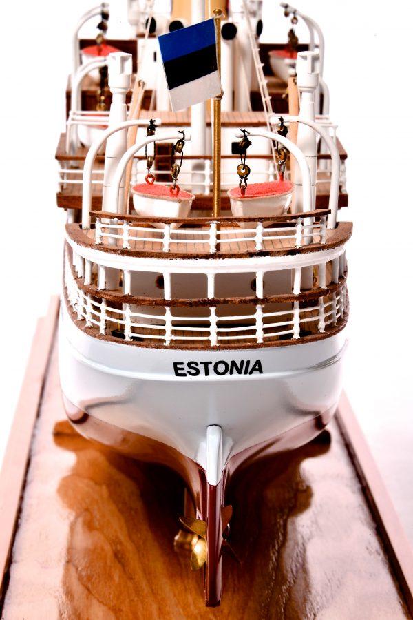 SS Estonia Passenger Ship Model
