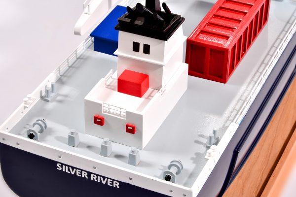 Silver River Model Cargo Ship