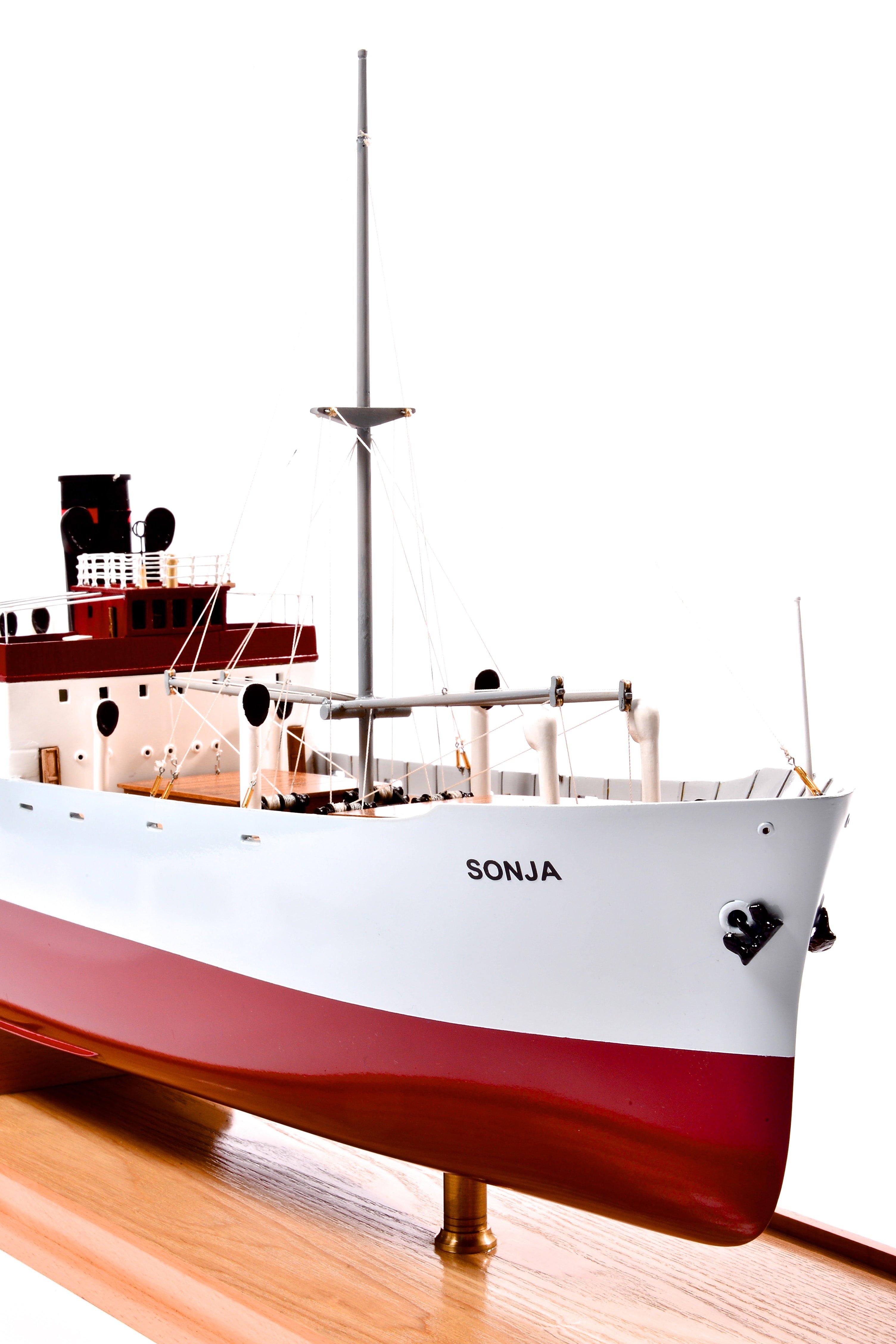 Sonja Cargo Steamship Custom Model