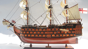 Standard Range Ship Models